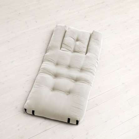 Hippo Small Futon in Natural