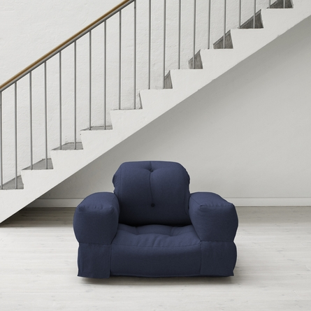 Hippo Small Futon in Navy