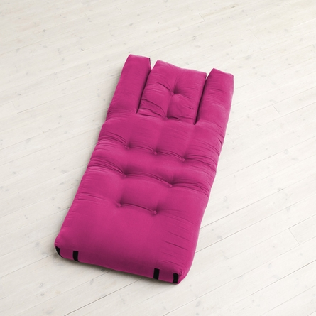 Hippo Small Futon in Pink