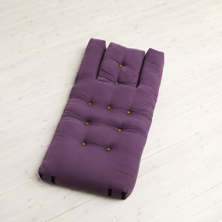 Hippo Small Futon in Purple