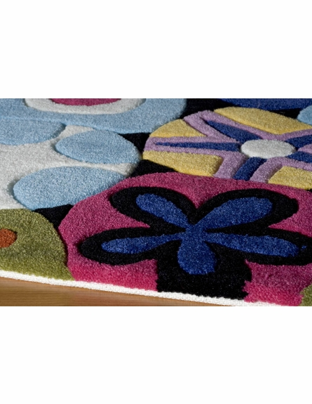 Hipster Flowers Rug