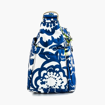 Hobo Be Diaper Bag in Cobalt Blossoms