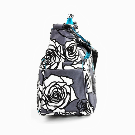 Hobo Be in Charcoal Roses