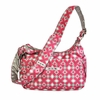 Hobo Be Diaper Bag in Pink Pinwheels