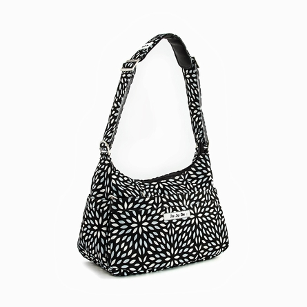 Hobo Be Diaper Bag in Platinum Petals