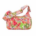 Hobobe Diaper Bag in Perky Perennials