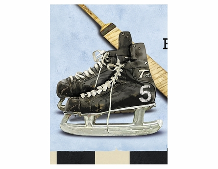 Hockey Legends Canvas Reproduction