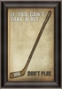 Hockey Poster Framed Wall Art
