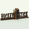 Hockey Stick Letter Bookends