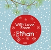 Holiday Big Heart Personalized Book