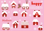 Holiday Houses Placemat