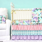 Holly's Hydrangea Crib Bedding Set