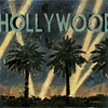 Hollywood Night Canvas Wall Art