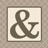 Home Monogram Ampersand Canvas Reproduction