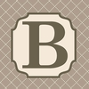 Home Monogram Canvas Reproduction - B