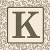 Home Monogram Canvas Reproduction - K