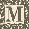 Home Monogram Canvas Reproduction - M