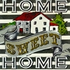 Home Sweet Home Canvas Wall Art