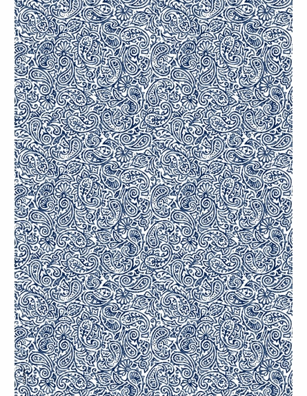 Honey Blue Blue Floor Mat