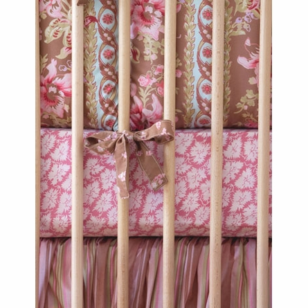 Honey Lucretia Crib Bedding Set