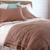 Honey Sateen Coverlet
