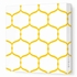 Honeycomb Circles Canvas Wall Art