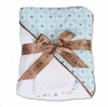Blue Octagon Hooded Towel Set