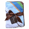 Blue Stripe Hooded Towel Set
