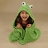 Hooded Towel - Happy Frog