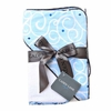 Light Blue Swirl Hooded Towel Set