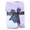 Light Pink Swirl Hooded Towel Set