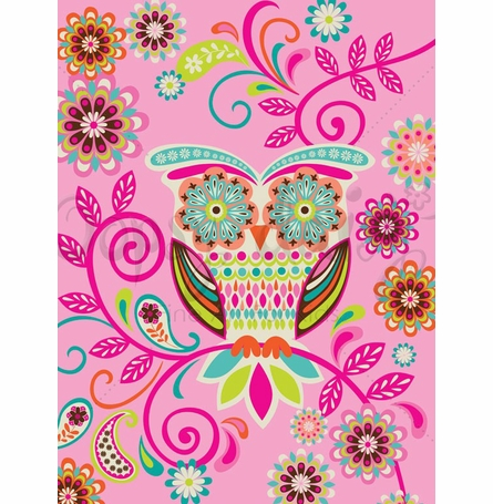 Hootie Cutie Canvas Wall Art