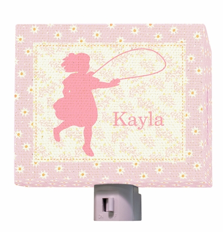 Hop Skip - Girl Night Light