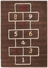 Hopscotch Rug in Brown