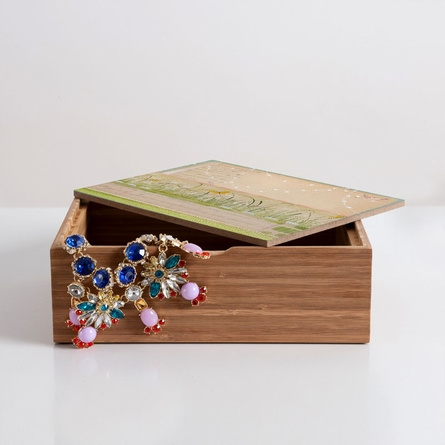 Horizontal Jewelry Box