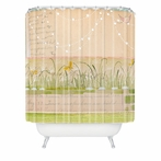 Horizontal Shower Curtain
