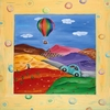 Hot Air Balloon Canvas Reproduction