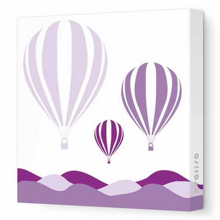 Hot Air Balloon Canvas Wall Art