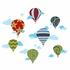 Hot Air Balloons Wallcandy