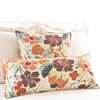 Hot House Floral Fall Rectangular Pillow