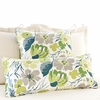 Hot House Floral Spring Rectangular Pillow
