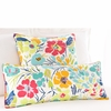 Hot House Floral Summer Rectangular Pillow
