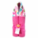 Hot Pink Chicks Hooded Towel