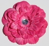 Hot Pink Gardenia Blooming Fabric Flower