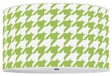 Houndstooth Apple Green