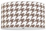 Houndstooth Chocolate Brown