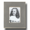 Houndstooth Coal Picture Frame
