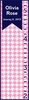 Houndstooth Flag Personalized Growth Chart