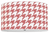 Houndstooth Red