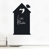 House Chalkboard Wall Decal